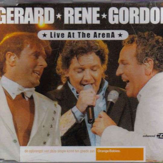 Coverafbeelding Live At The Arena - Gerard & Rene & Gordon