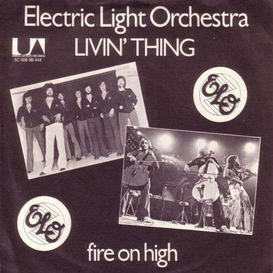 Coverafbeelding Livin' Thing - Electric Light Orchestra