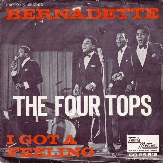 Coverafbeelding Bernadette - The Four Tops