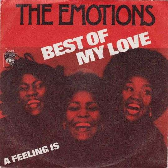 Coverafbeelding Best Of My Love - The Emotions