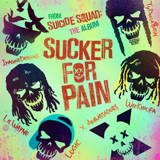 Coverafbeelding Sucker For Pain - Lilwayne & Imaginedragons & Tydolla$Ign & Wizkhalifa & X Ambassadors & Logic