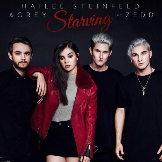 Coverafbeelding Starving - Hailee Steinfeld & Grey Ft. Zedd