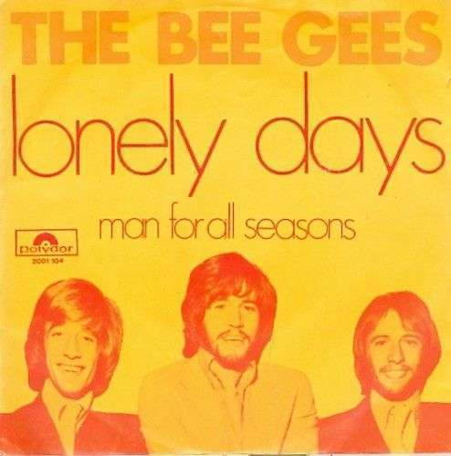 Coverafbeelding The Bee Gees - Lonely Days
