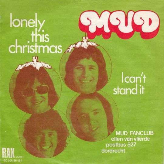 Coverafbeelding Mud - Lonely This Christmas