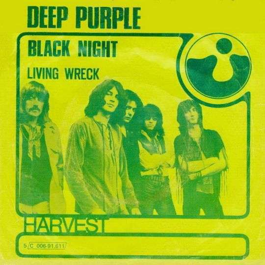Coverafbeelding Deep Purple - Black Night