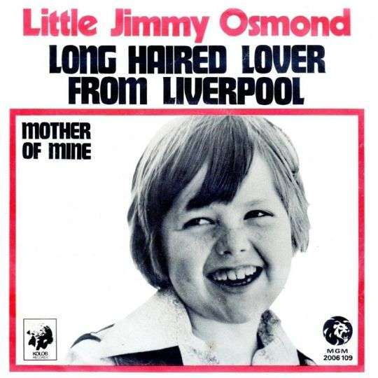 Coverafbeelding Long Haired Lover From Liverpool - Little Jimmy Osmond