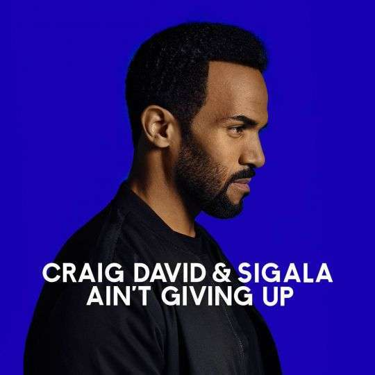Coverafbeelding Ain't Giving Up - Craig David & Sigala