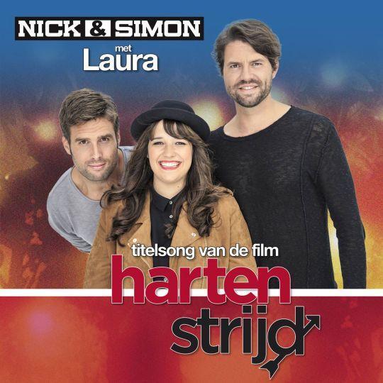 Coverafbeelding Hartenstrijd - Titelsong Van De Film - Nick & Simon Met Laura