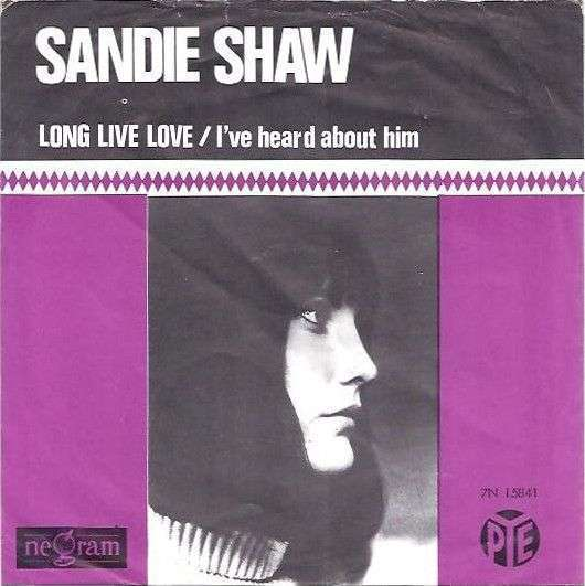 Coverafbeelding Long Live Love - Sandie Shaw