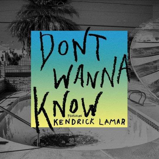 Coverafbeelding Maroon 5 featuring Kendrick Lamar - Dont wanna know