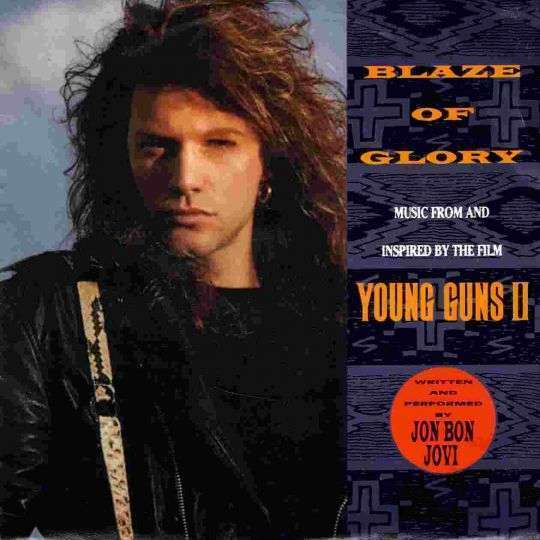 Coverafbeelding Blaze Of Glory - Jon Bon Jovi