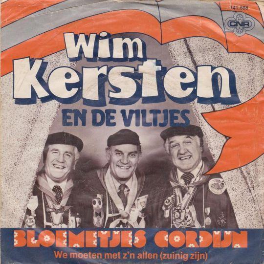 Coverafbeelding Wim Kersten en De Viltjes - Bloemetjes Gordijn