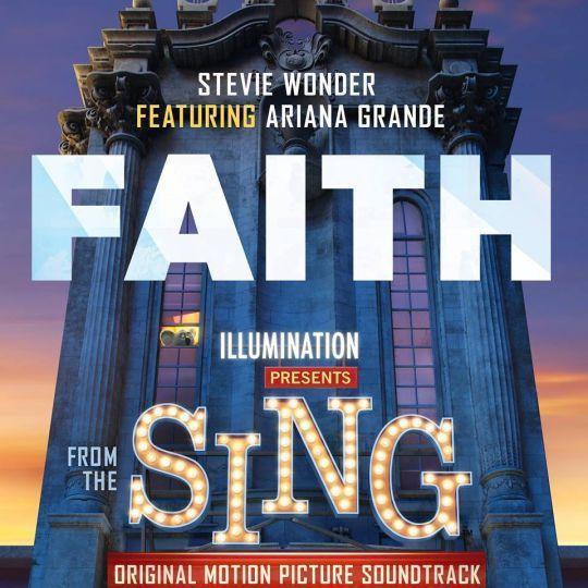 Coverafbeelding Stevie Wonder featuring Ariana Grande - Faith