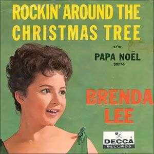 Coverafbeelding brenda lee - rockin' around the christmas tree