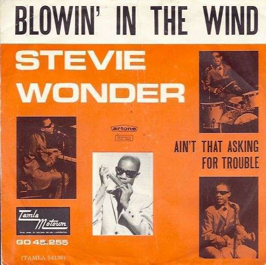 Coverafbeelding Blowin' In The Wind - Stevie Wonder