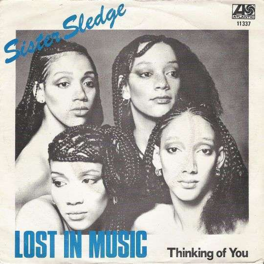 Coverafbeelding Lost In Music - Sister Sledge