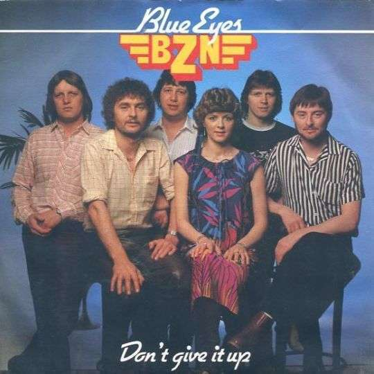 Coverafbeelding Blue Eyes - Bzn