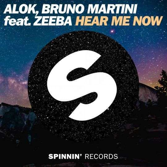 Coverafbeelding Hear Me Now - Alok & Bruno Martini Feat. Zeeba