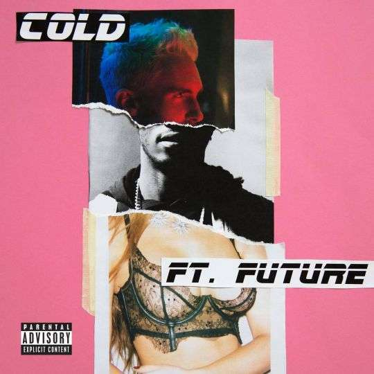 Coverafbeelding Maroon 5 ft. Future - Cold