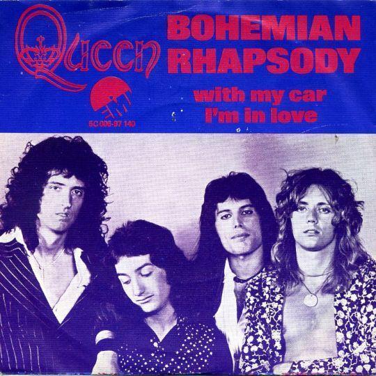 Coverafbeelding Bohemian Rhapsody - Queen
