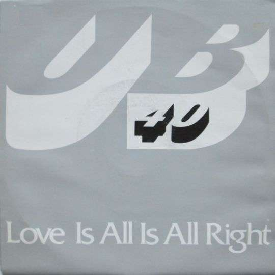 Coverafbeelding Love Is All Is All Right - Ub40