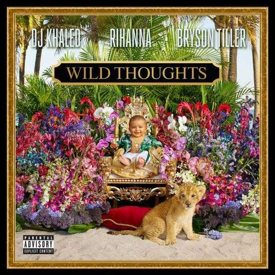 Coverafbeelding Wild Thoughts - Dj Khaled & Rihanna & Bryson Tiller