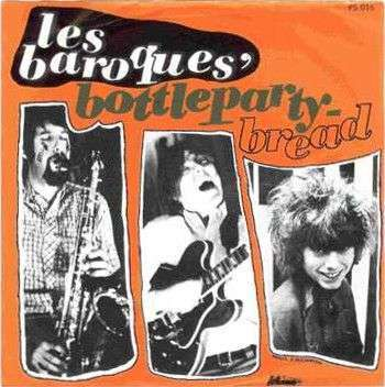 Coverafbeelding Bottleparty - Les Baroques