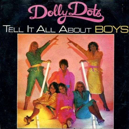 Coverafbeelding Tell It All About Boys - Dolly Dots