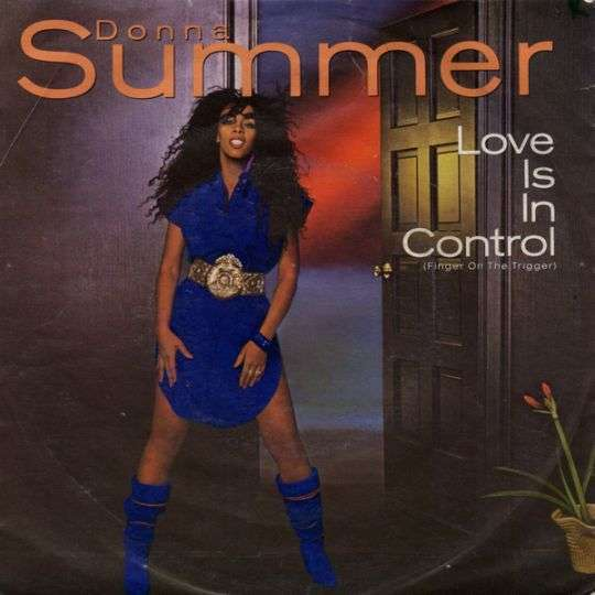 Coverafbeelding Donna Summer - Love Is In Control (Finger On The Trigger)