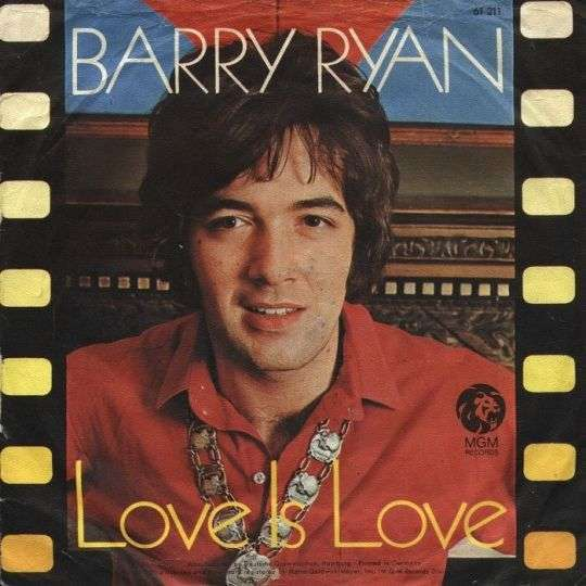 Coverafbeelding Love Is Love - Barry Ryan
