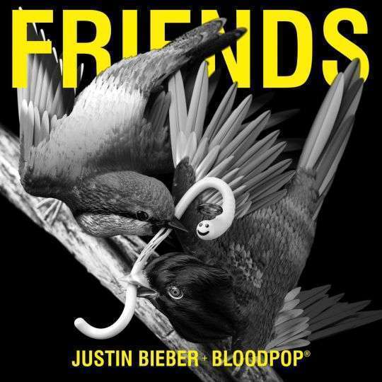 Coverafbeelding Friends - Justin Bieber + Bloodpop