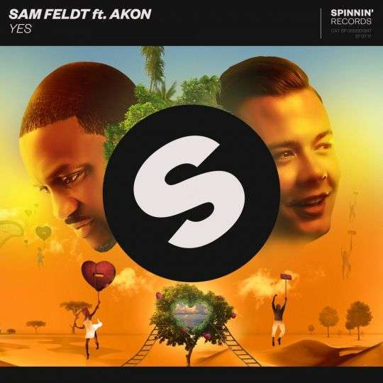 Coverafbeelding Yes - Sam Feldt Ft. Akon