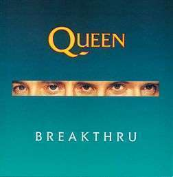 Coverafbeelding Queen - Breakthru