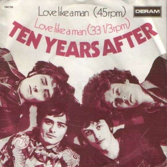 Coverafbeelding Ten Years After - Love Like A Man