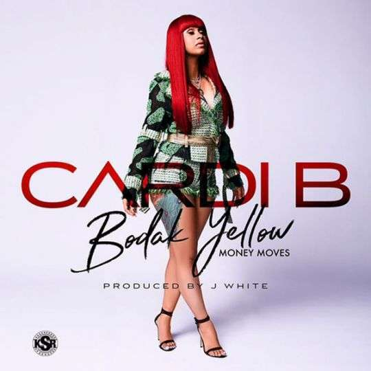 Coverafbeelding Bodak Yellow - Money Moves - Cardi B