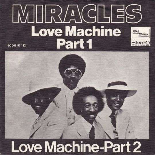 Coverafbeelding Love Machine Part 1 - Miracles
