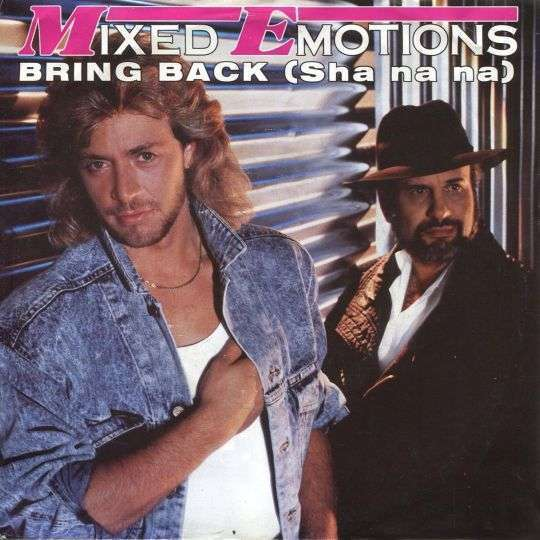 Coverafbeelding Bring Back (Sha Na Na) - Mixed Emotions