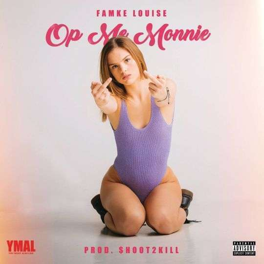 Coverafbeelding Op Me Monnie - Famke Louise