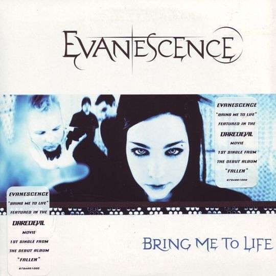Coverafbeelding Bring Me To Life - Evanescence