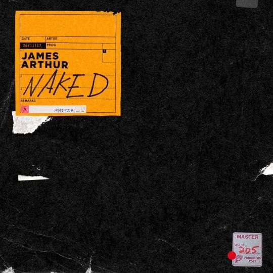 Coverafbeelding Naked - James Arthur