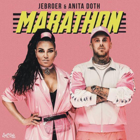 Coverafbeelding Marathon - Jebroer & Anita Doth