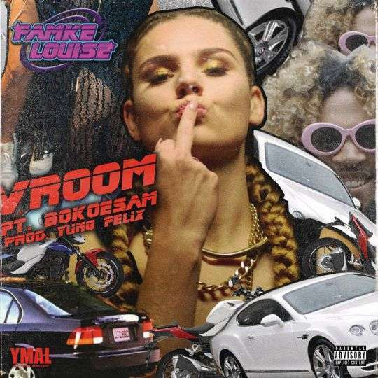 Coverafbeelding Vroom - Famke Louise Ft. Bokoesam