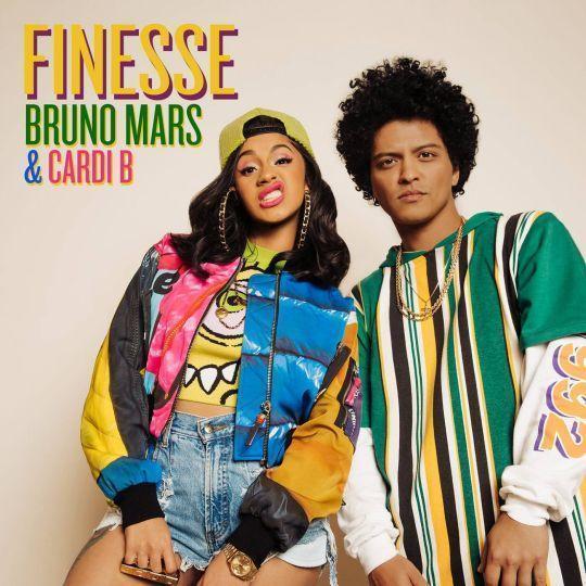 Coverafbeelding Finesse - Bruno Mars & Cardi B