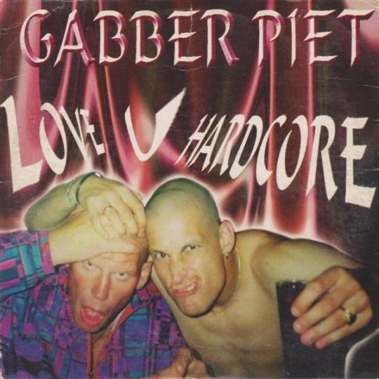 Coverafbeelding Gabber Piet - Love U Hardcore