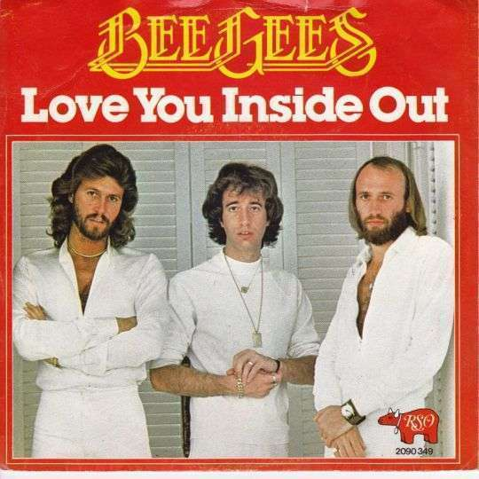 Coverafbeelding Bee Gees - Love You Inside Out