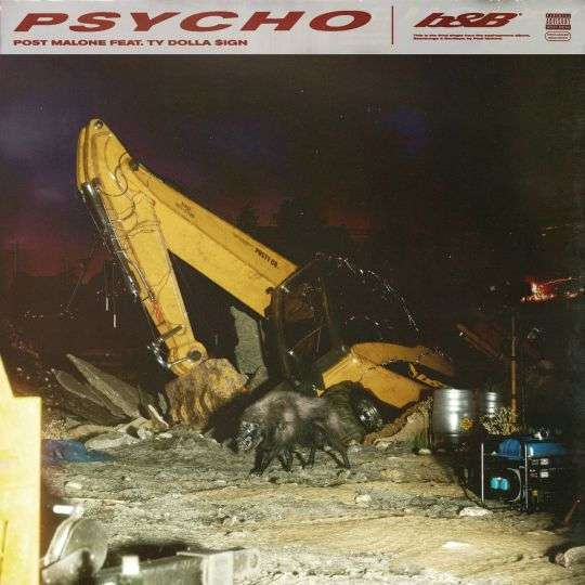 Coverafbeelding Psycho - Post Malone Feat. Ty Dolla $ign