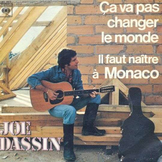 Coverafbeelding Ça Va Pas Changer Le Monde - Joe Dassin