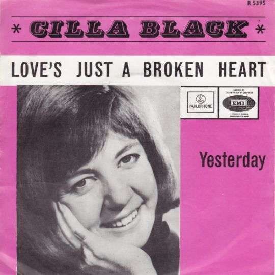 Coverafbeelding Love's Just A Broken Heart - Cilla Black
