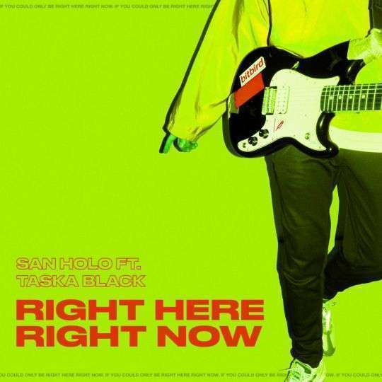 Coverafbeelding San Holo ft. Taska Black - Right here right now
