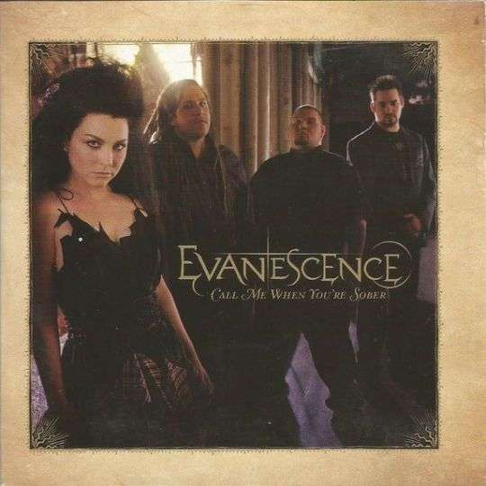 Coverafbeelding Evanescence - Call Me When You're Sober